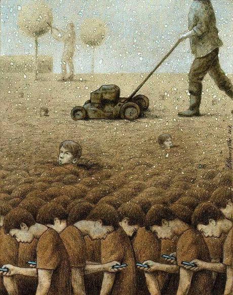 The modern world (C) Pawel Kuczynski
