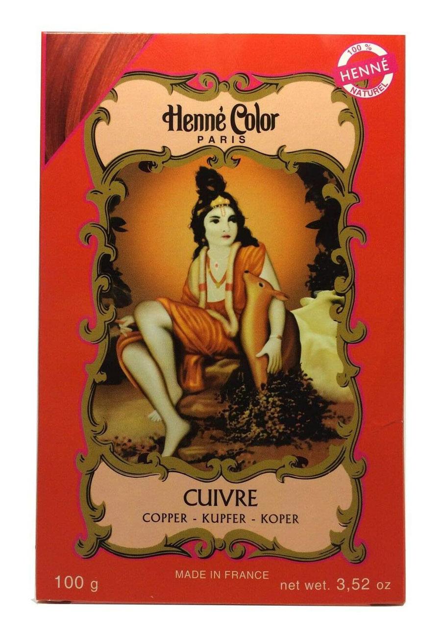 Henna para cubrir las canas de Henné Color