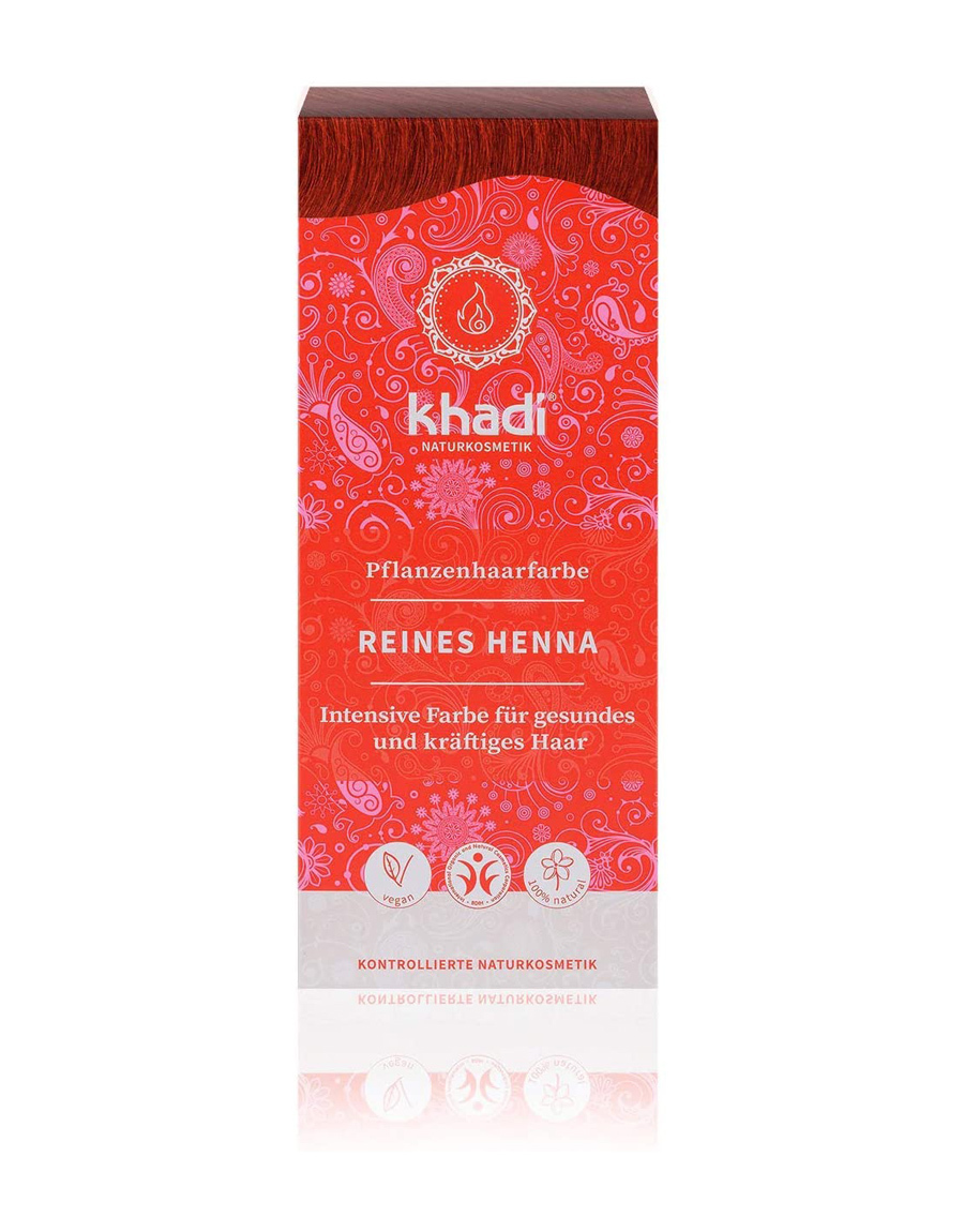 Henna Khadi, ideal para cubrir las canas