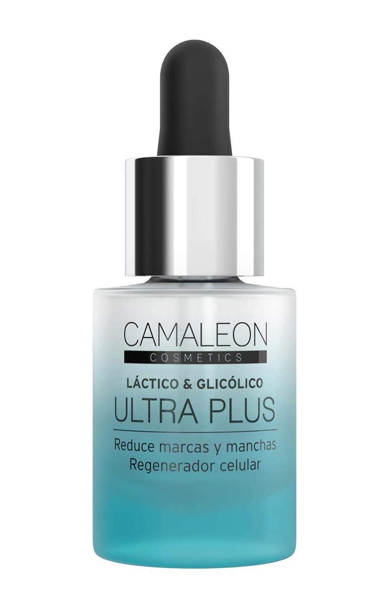 Sérum Ácido Glicólico Ultra Plus de Camaleon Cosmetics.