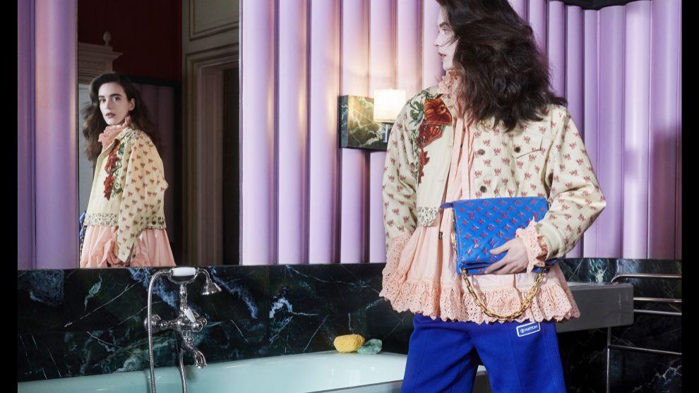 Imagen de campaña Louis Vuitton Pre Fall 2021