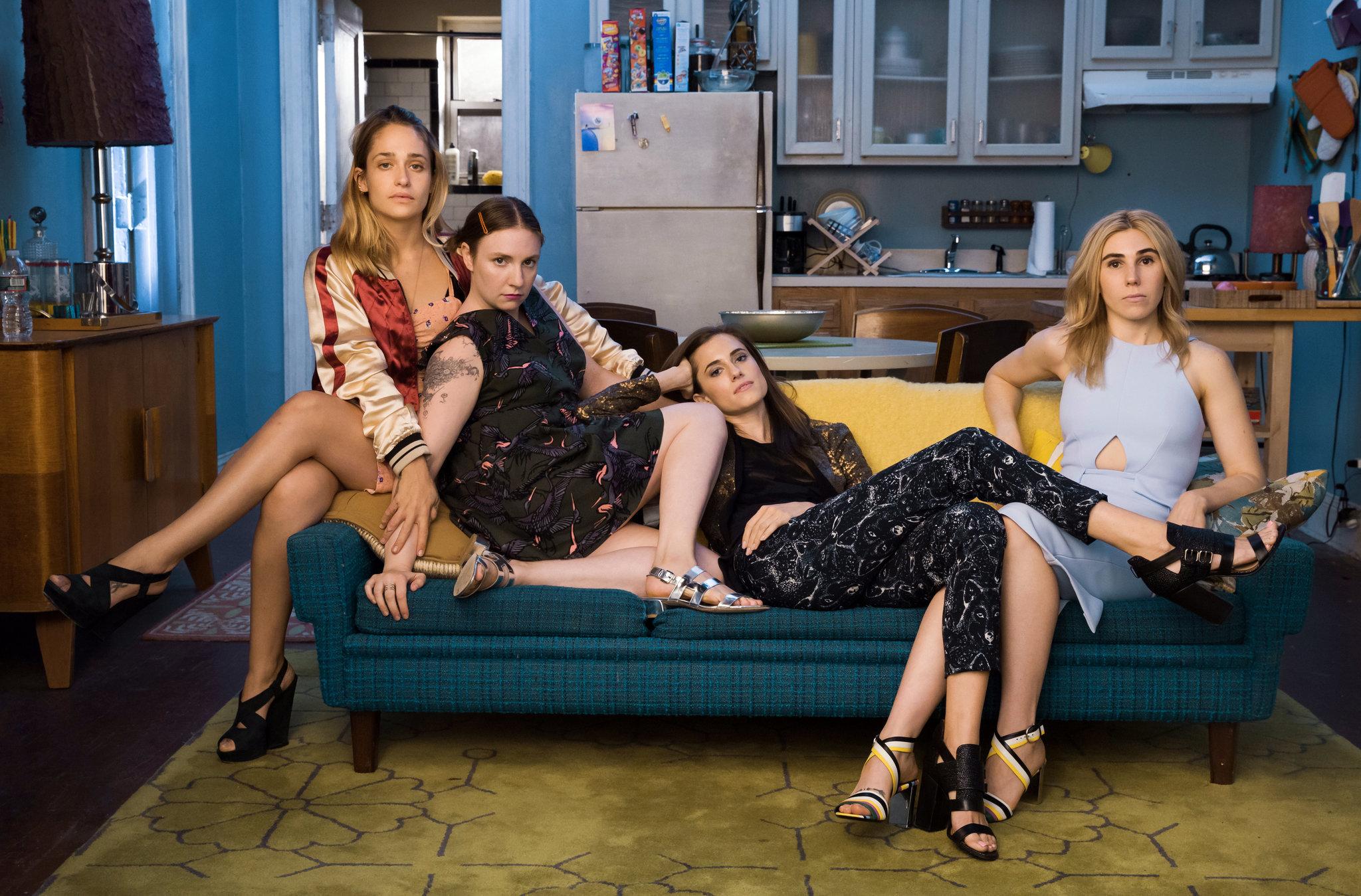 """""""Girls"""" se estrenó en HBO en 2012, escrita, dirigida y protagonizada por Lena Dunham."""