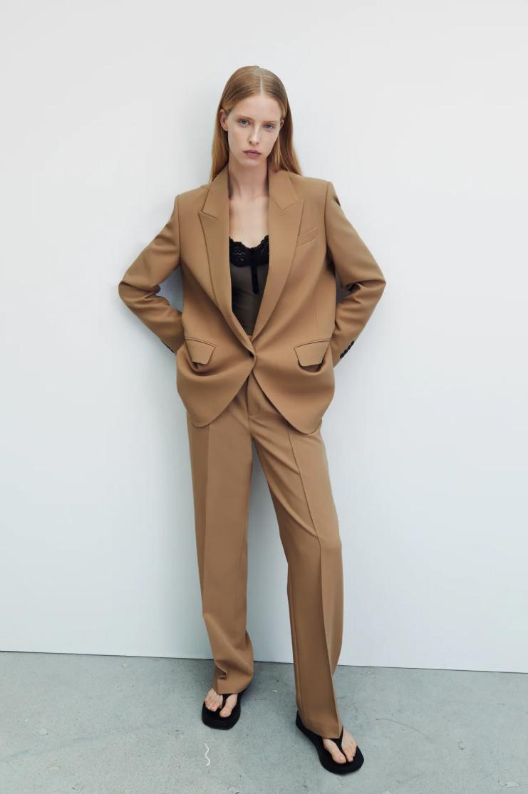 Body lencero y sastre, la combinación de Zara.