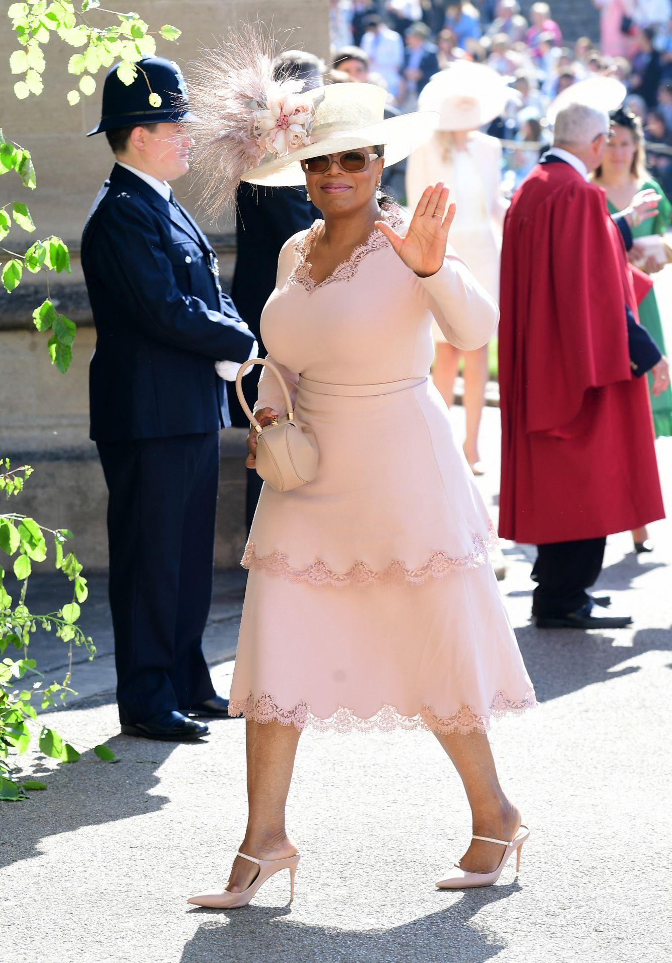 Oprah Winfrey en la boda de los Sussex.
