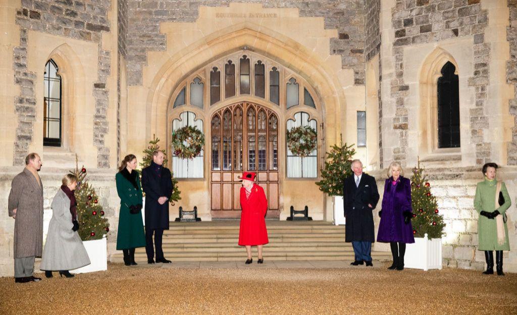 Los fieles a Isabel II.