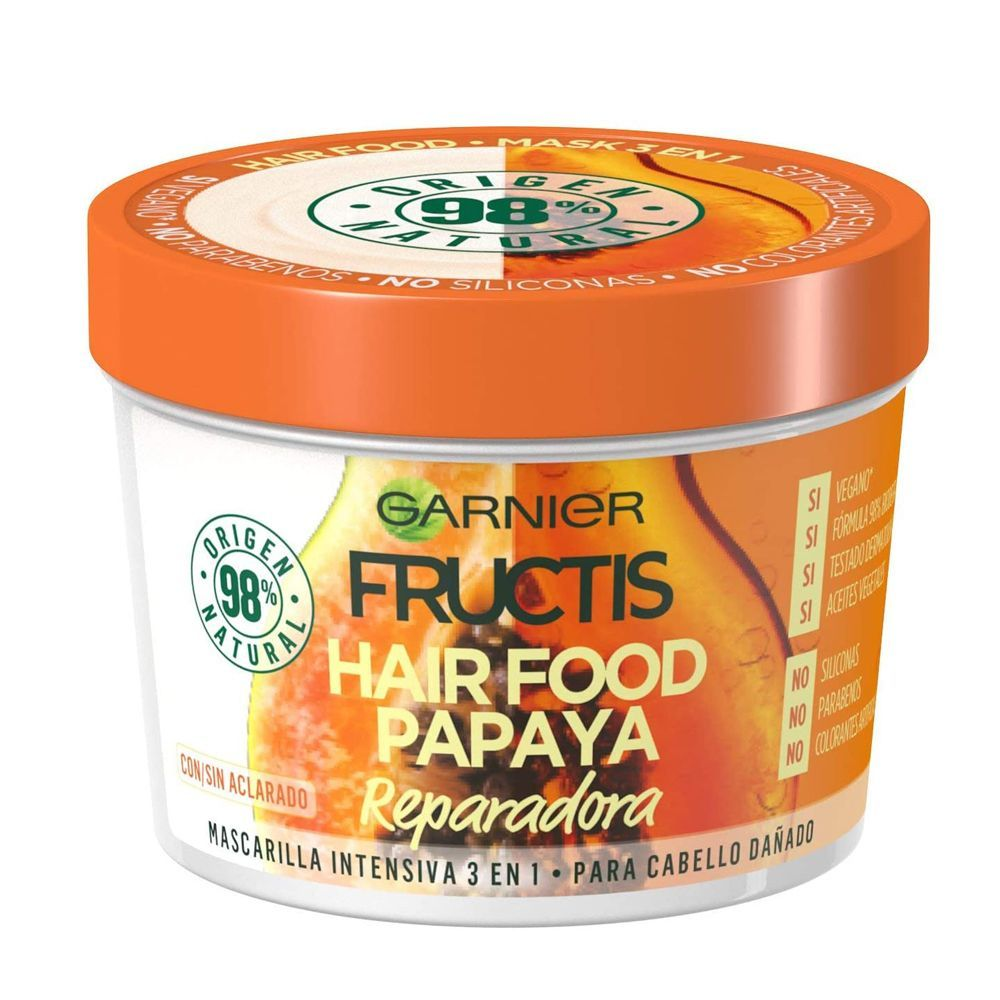Mascarilla Hair Food Papaya Fructis de Garnier.