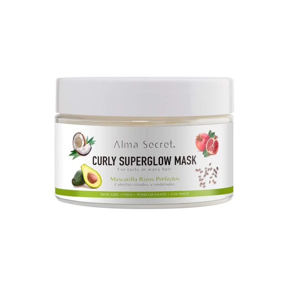 Curly Superglow Mask de Alma Secret.