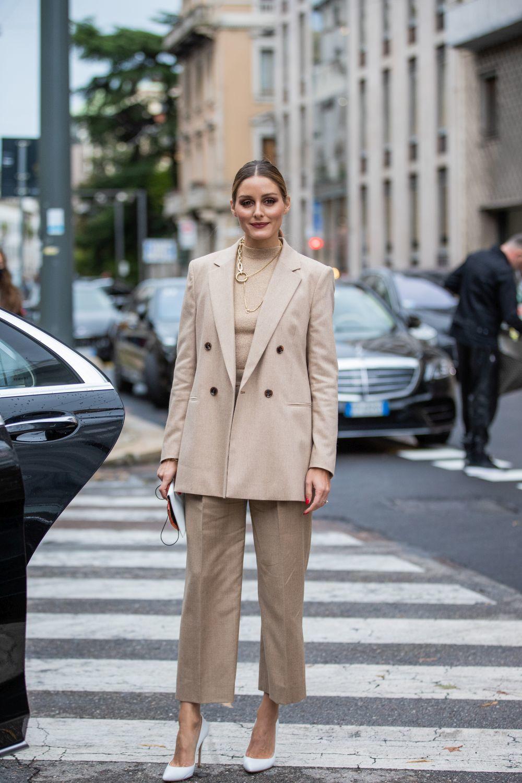 Olivia Palermo en la Alta Costura de París.