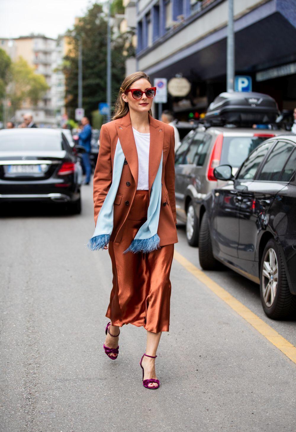 Si hay alguien que sabe adaptar las tendencias a su estilo esa es Olivia Palermo.