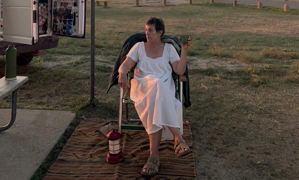 """Frances McDormand es la protagonista de """"Nomadland""""."""