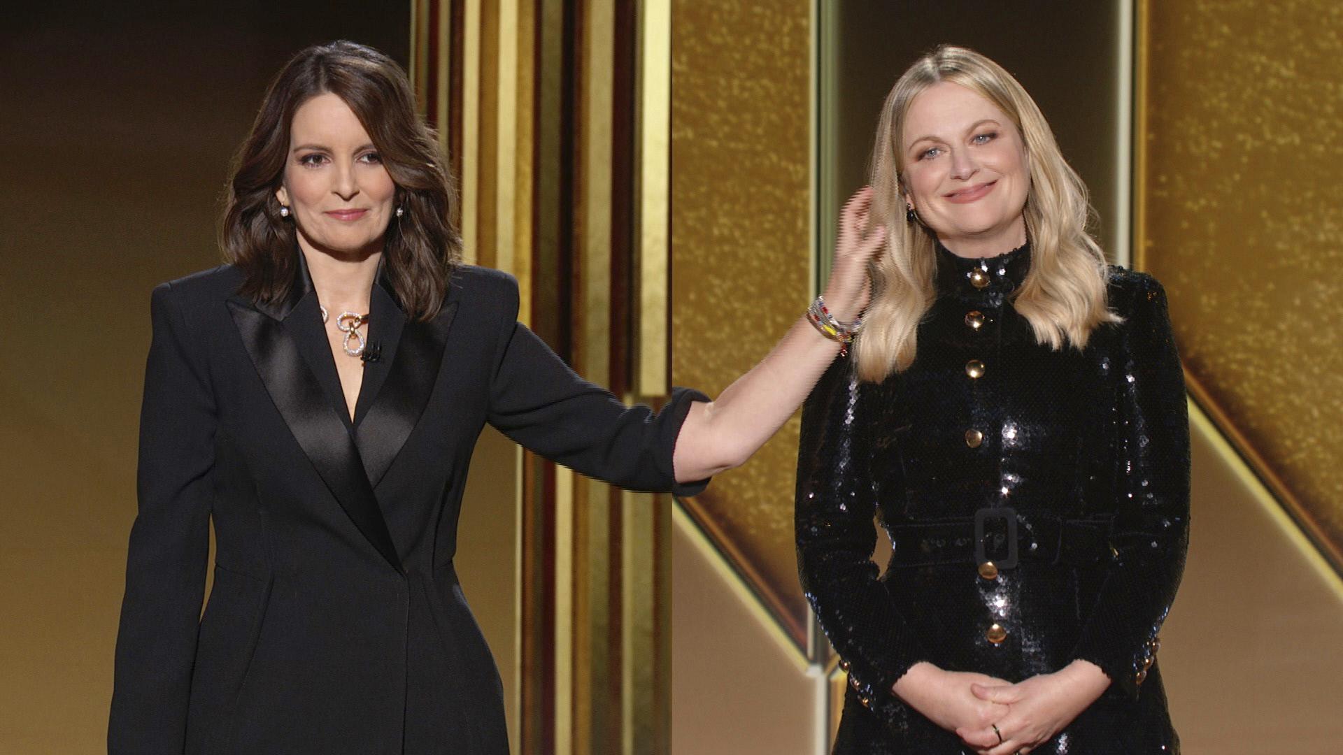 Tina Fey y Amy Poehler presentaron la gala de los Globos de Oro 2021 de forma remota.