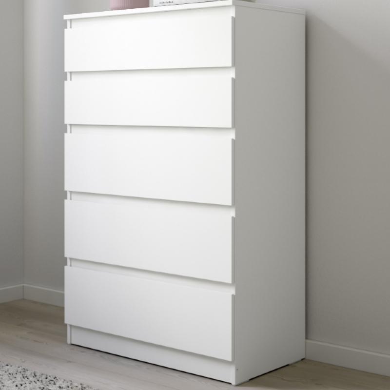 El modelo de cómoda Kullen de Ikea fue el más vendido de la compañía sueca en 2020.