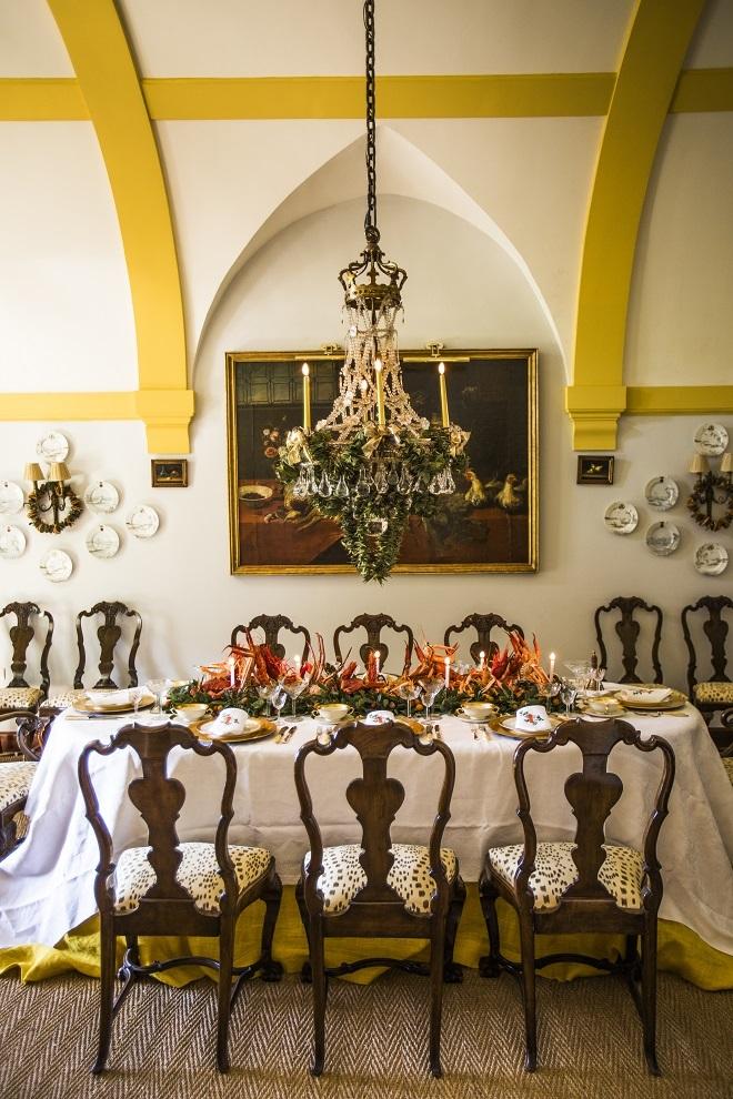 Comedor decorado por Marie Caroline Willms.
