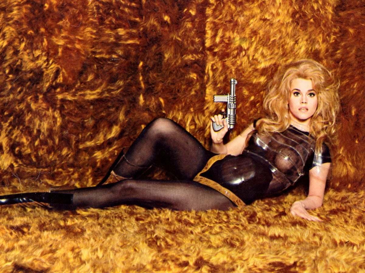 "Jane Fonda en la película ""Barbarella"" (1968)."