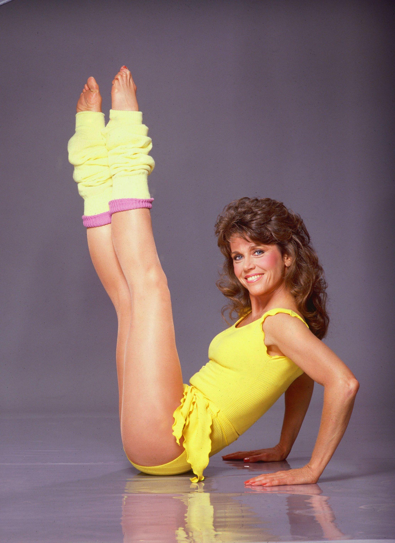 """Las cintas de vídeo """"Jane Fonda Workout"""" llegaron a vender 17 millones de copias en todo el mundo."""