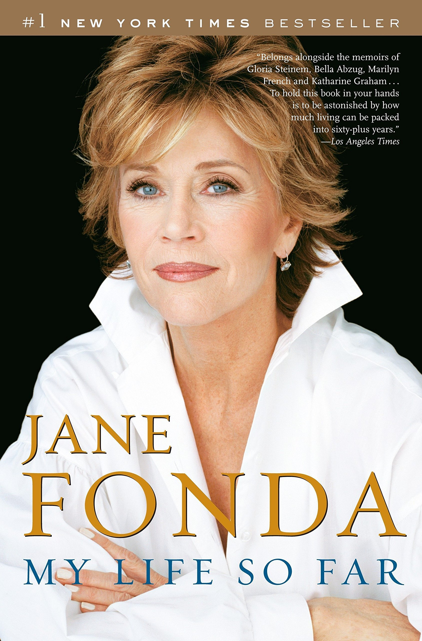 """My life so far"", la autobiografía escrita por Jane Fonda."
