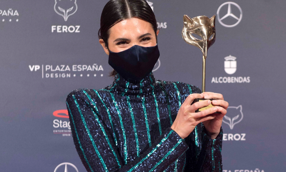 La actriz Elena Irureta, mejor actriz protagonista por 'Patria'