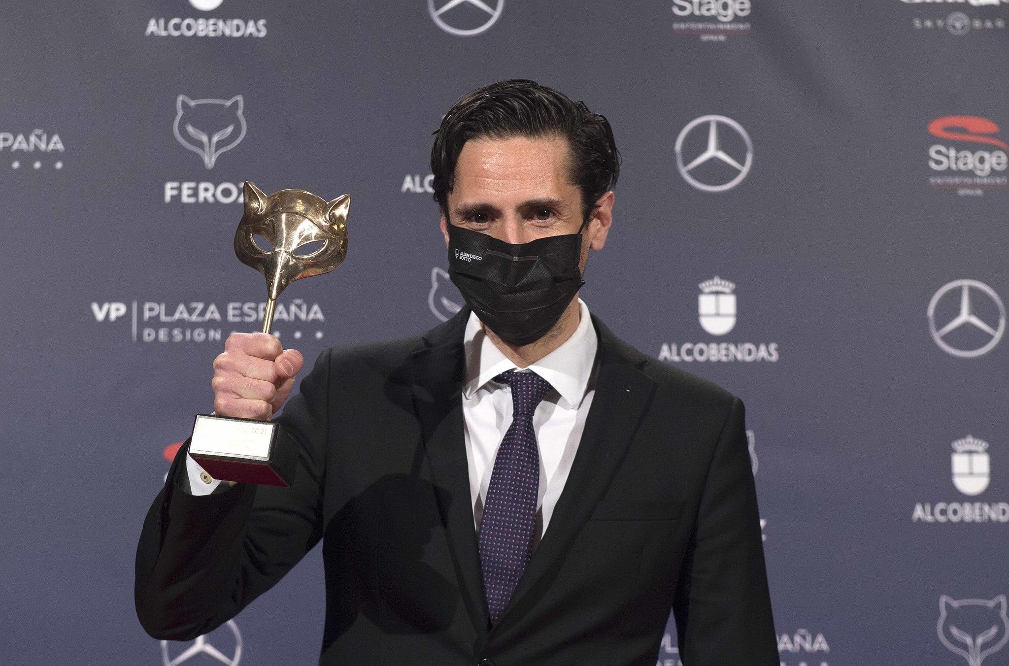Juan Diego Botto, mejor actor secundario por 'Los europeos'