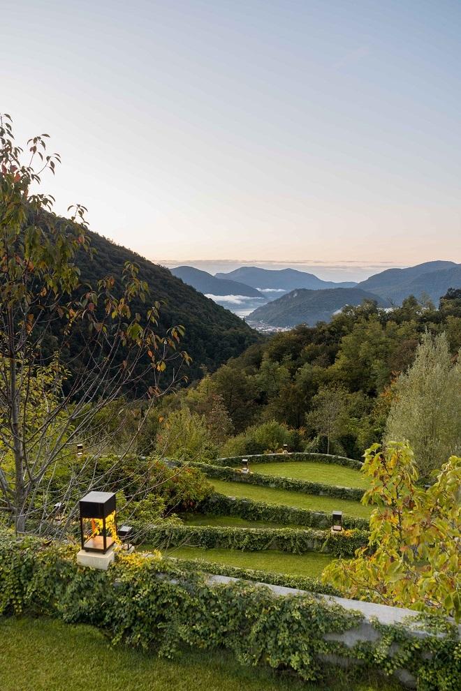 Casa y jardín de las Siete Montañas.