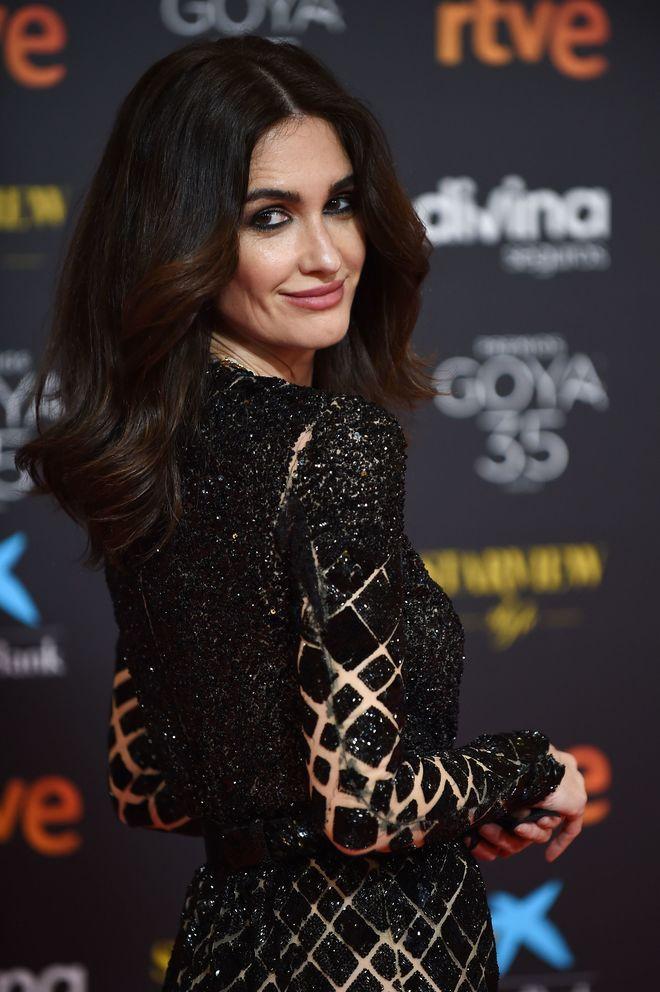 Paz Vega en los Premios Goya 2021.