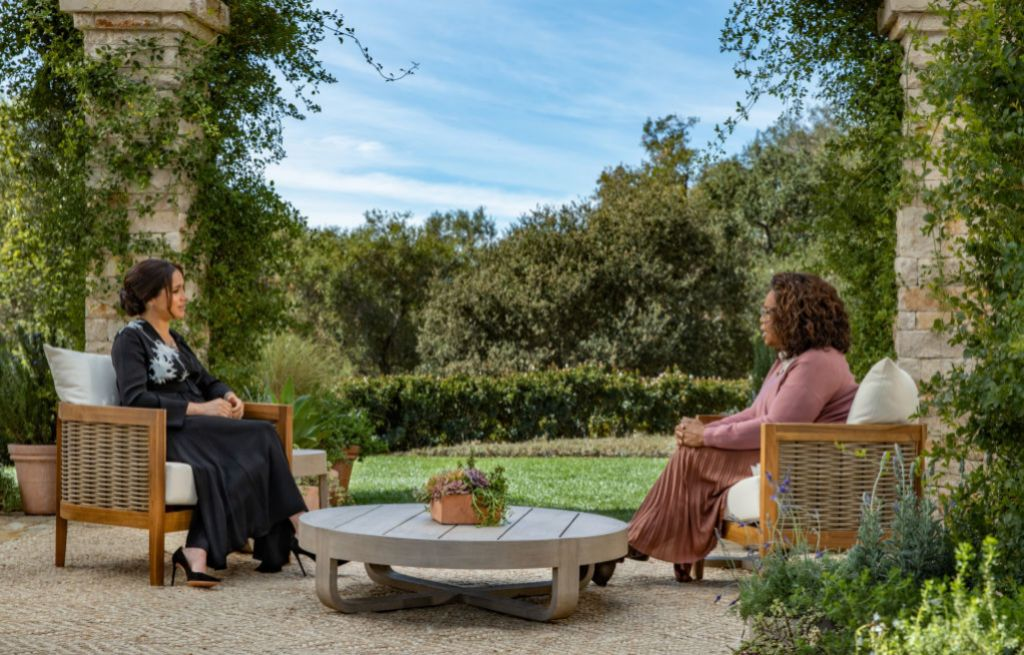 Meghan y Oprah Winfrey.