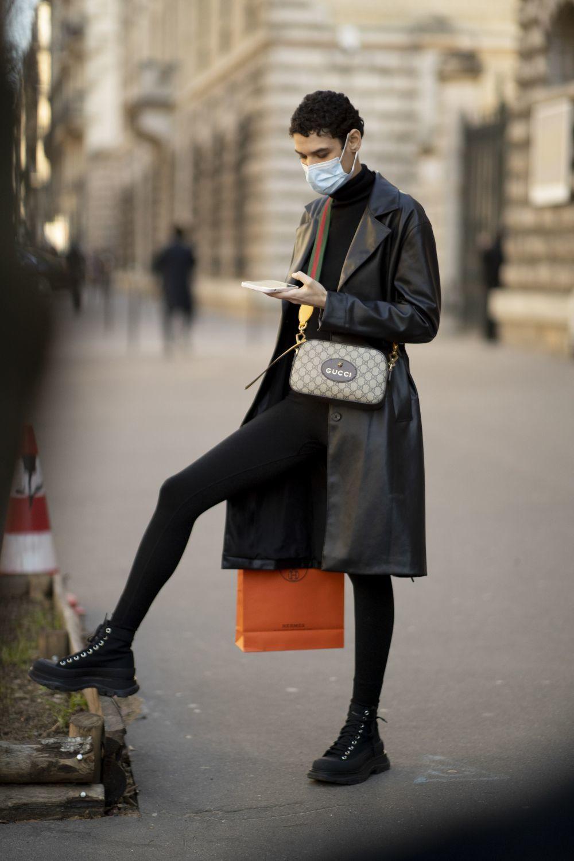 Visto en el street style de París.