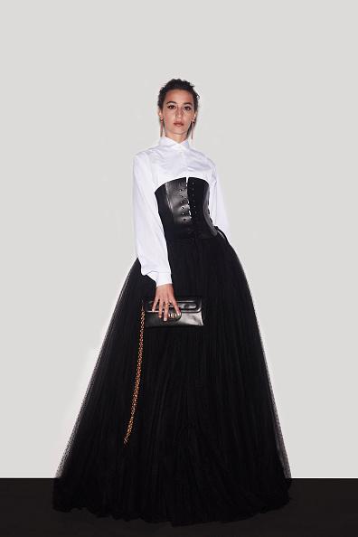 Amaia Aberasturi con el look de Dior que eligió como nominada.