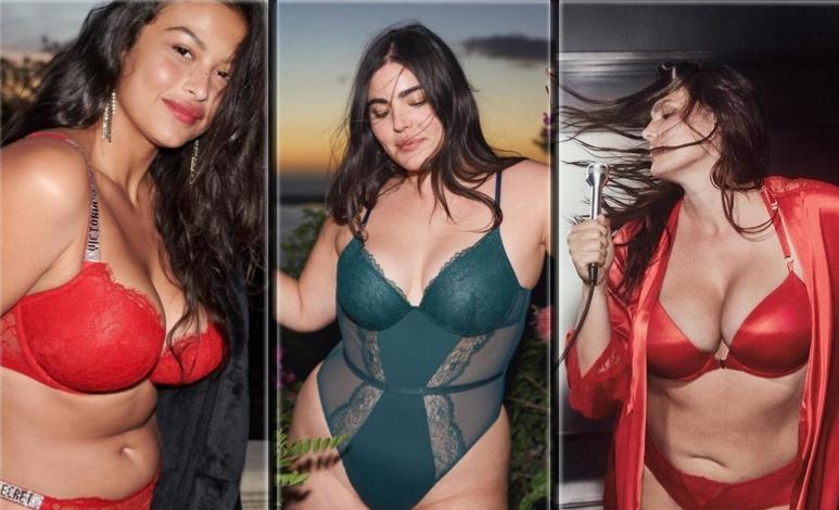 Devyn Garcia, Alessandra Garcia y Candice Huffine son algunas de las...
