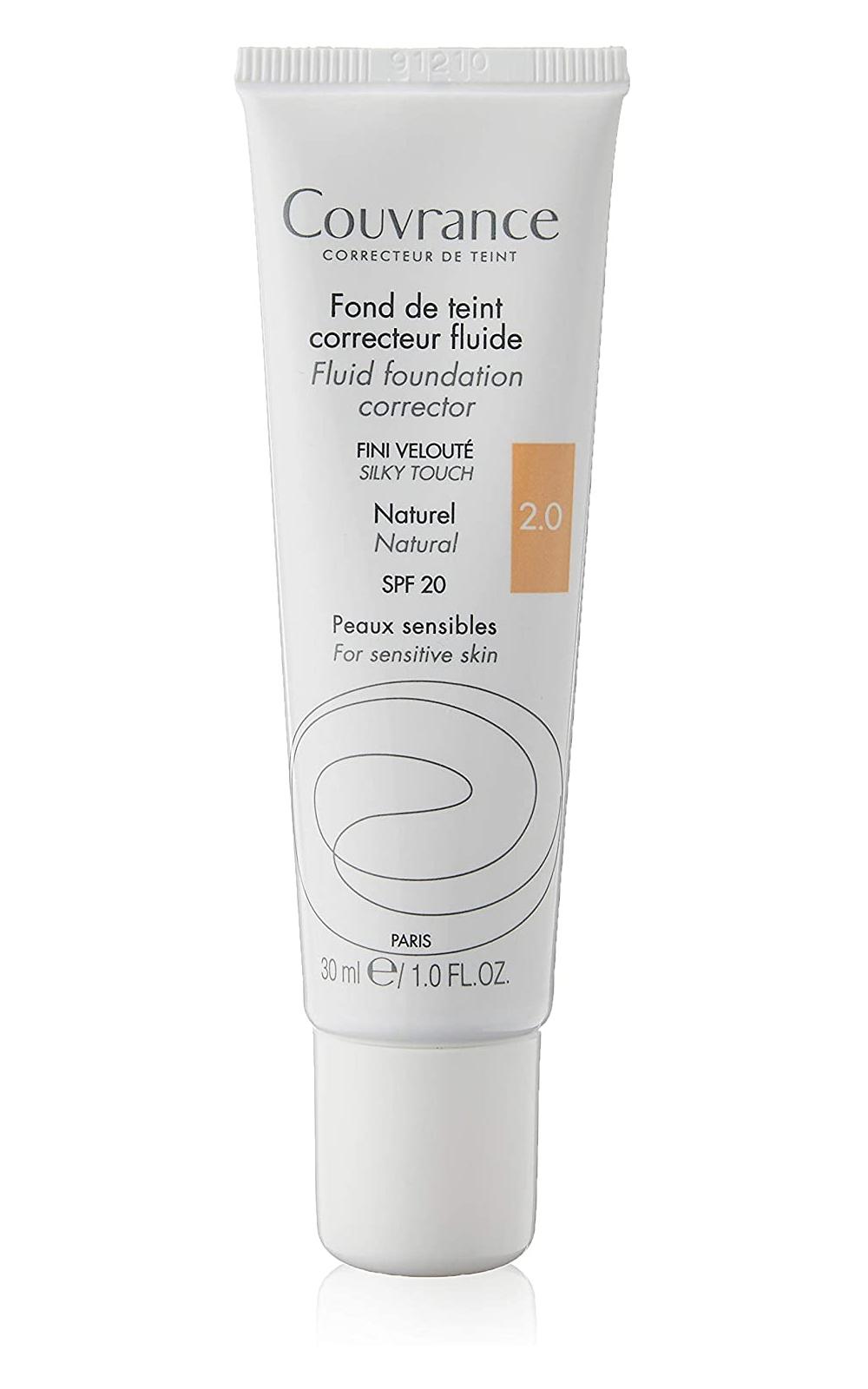 Pieles sensibles: Couvrance Fondo de Maquillaje Corrector Fluido de Avène.
