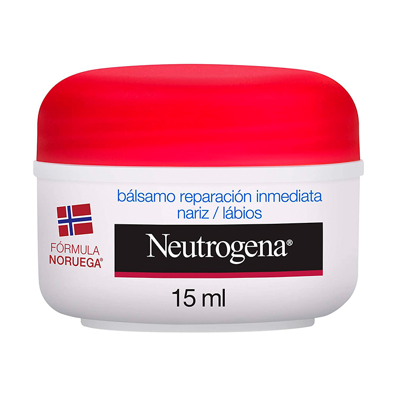 Bálsamo nariz y labios de Neutrogena.