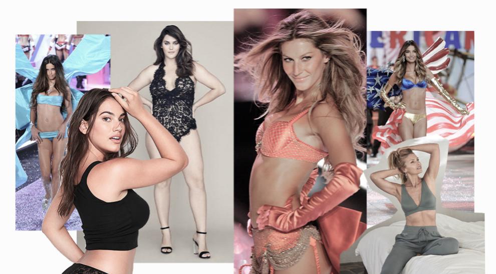 En la actualidad, en Victoria's Secret conviven las modelos clásicas...