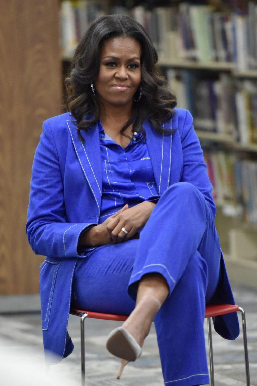 Michelle Obama opina que es importante hablar de salud mental.