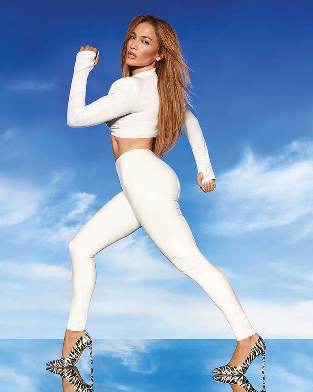 Jennifer Lopez con extensiones Bellami.