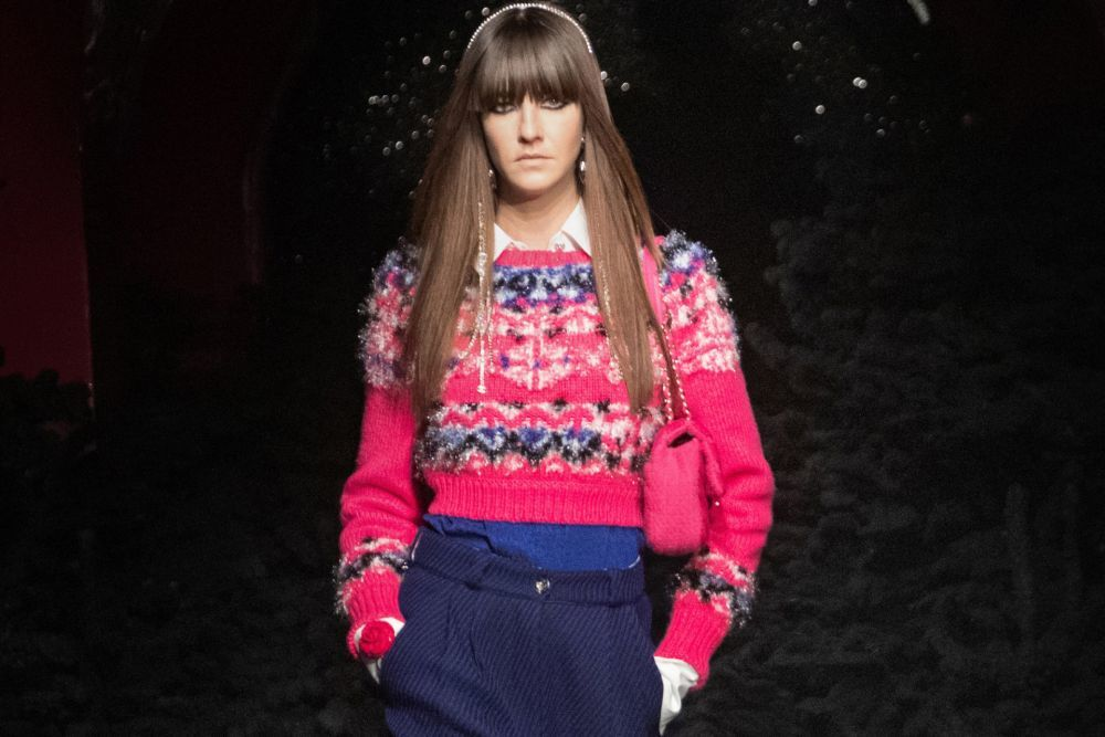 El flequillo seguirá siendo uno de los cortes del año en primavera y otoño de la mano de Chanel.