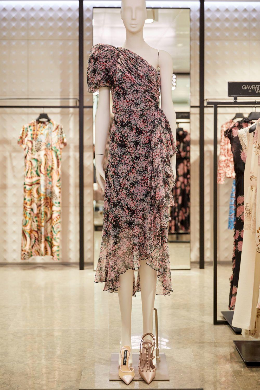 Vestido de flores de Giambattista Valli.