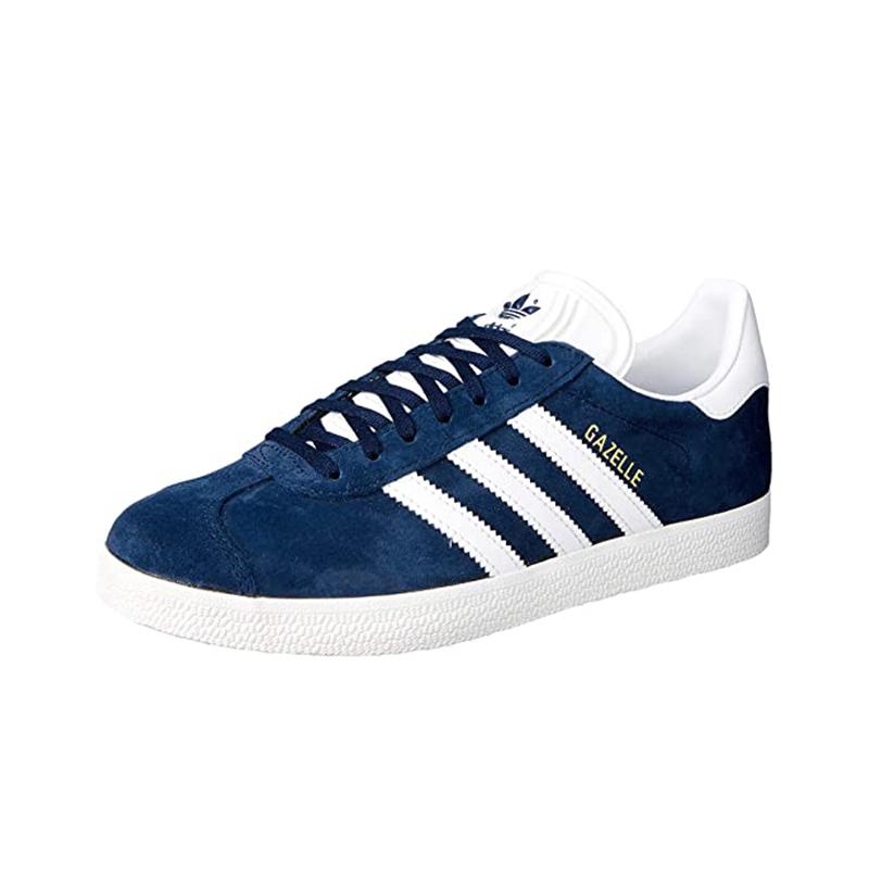 Zapatillas de ante azules Adidas Gazelle.