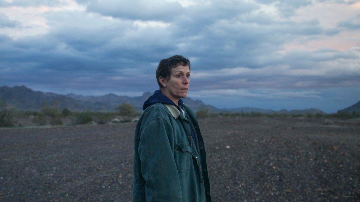 """Frances McDormand protagoniza """"Nomadland"""", la gran favorita de los Premios Oscar 2021."""