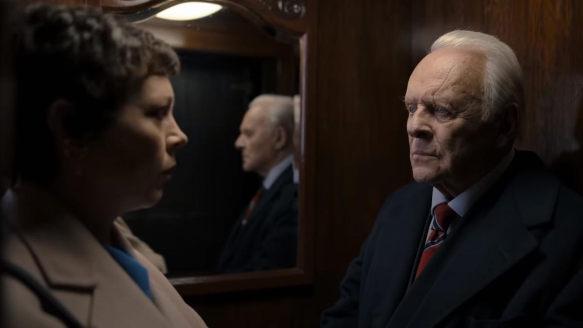 """Tanto Olivia Colman como Anthony Jopkins, protagonistas de """"El Padre"""", están nominados en los Premios Oscar 2021."""
