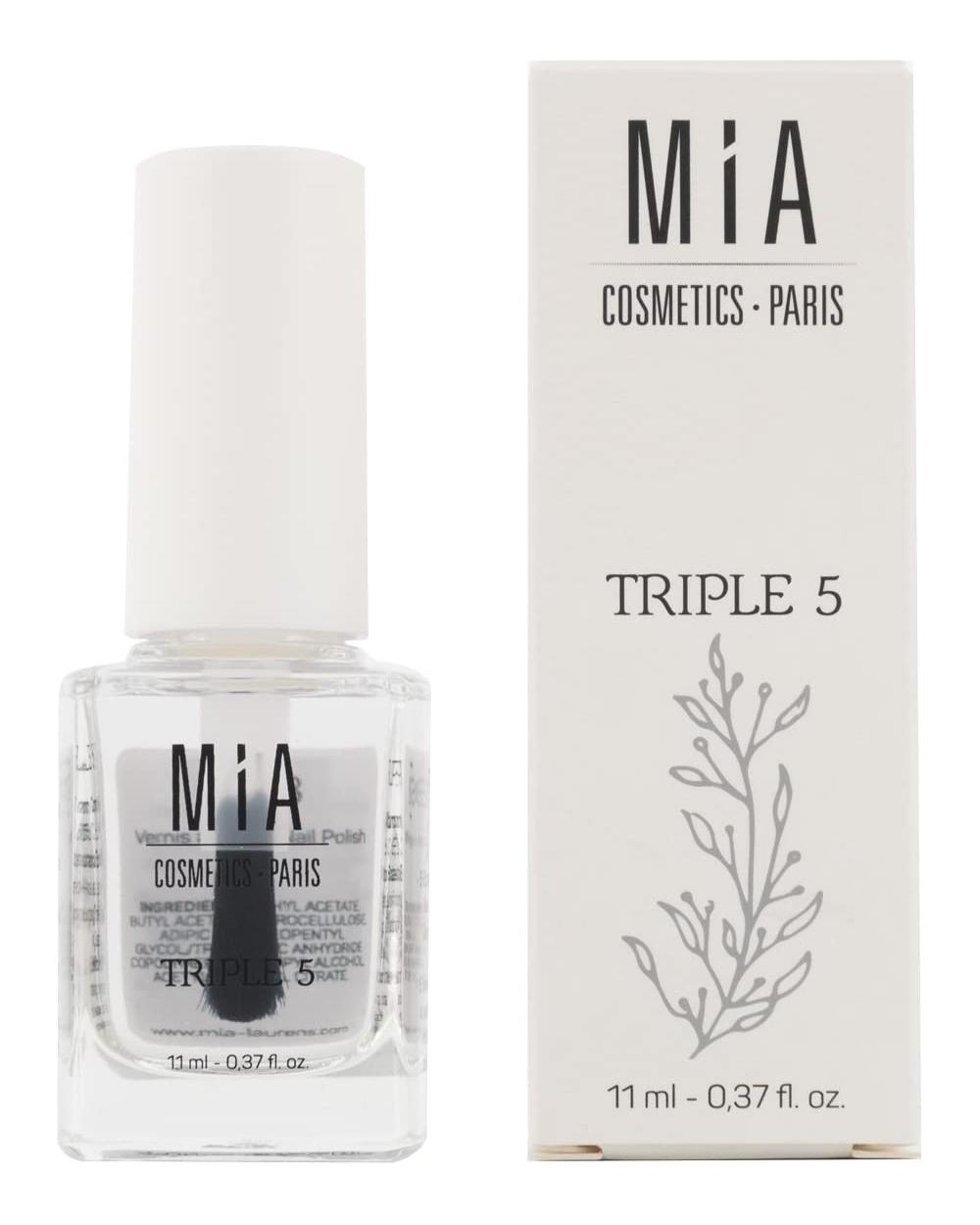 Endurecedor de uñas de Mia Cosmetics.