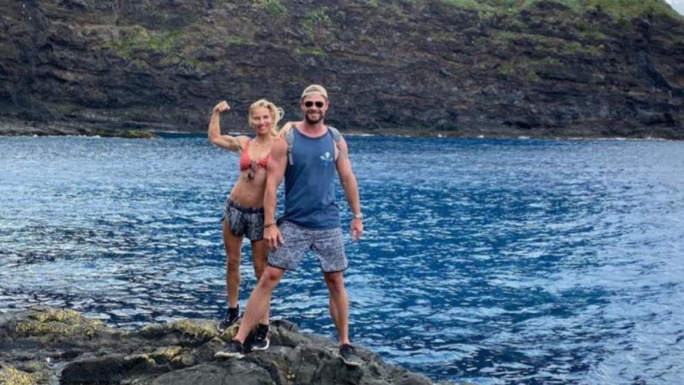 Elsa Pataky y Chris Hemsworth son una de las parejas más saludables...
