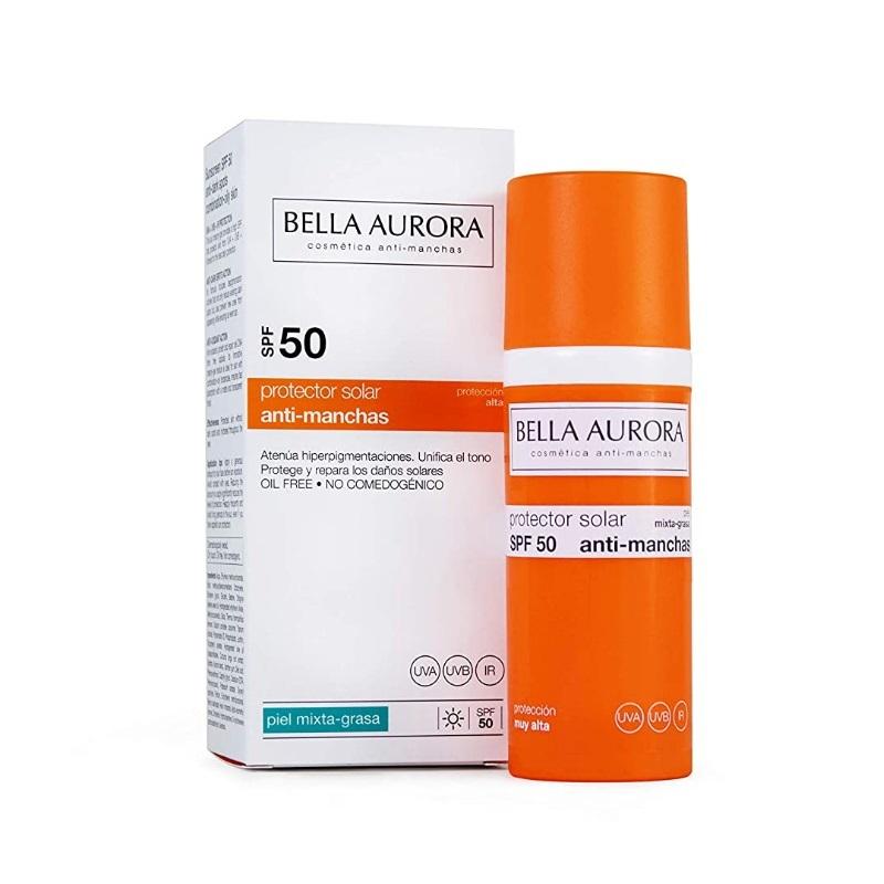 Protector Solar Facial SPF  50, de Bella Aurora