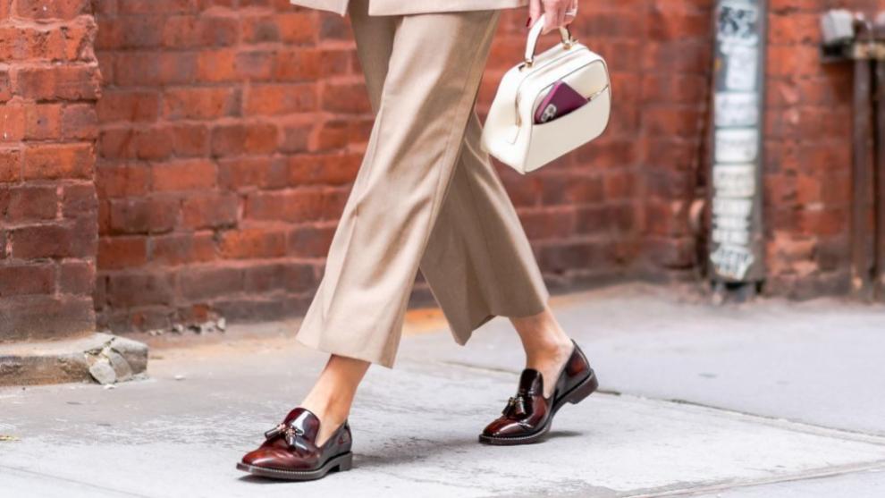 Los mocasines son el calzado de la primavera.