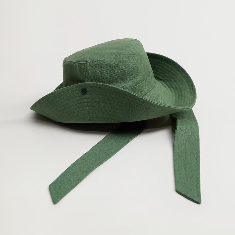 Sombrero bucket algodón.