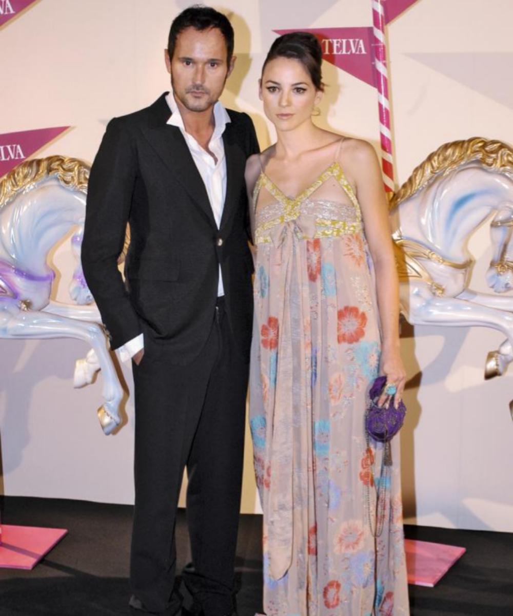 Leonor Watling junto al diseñador, Josep Font.
