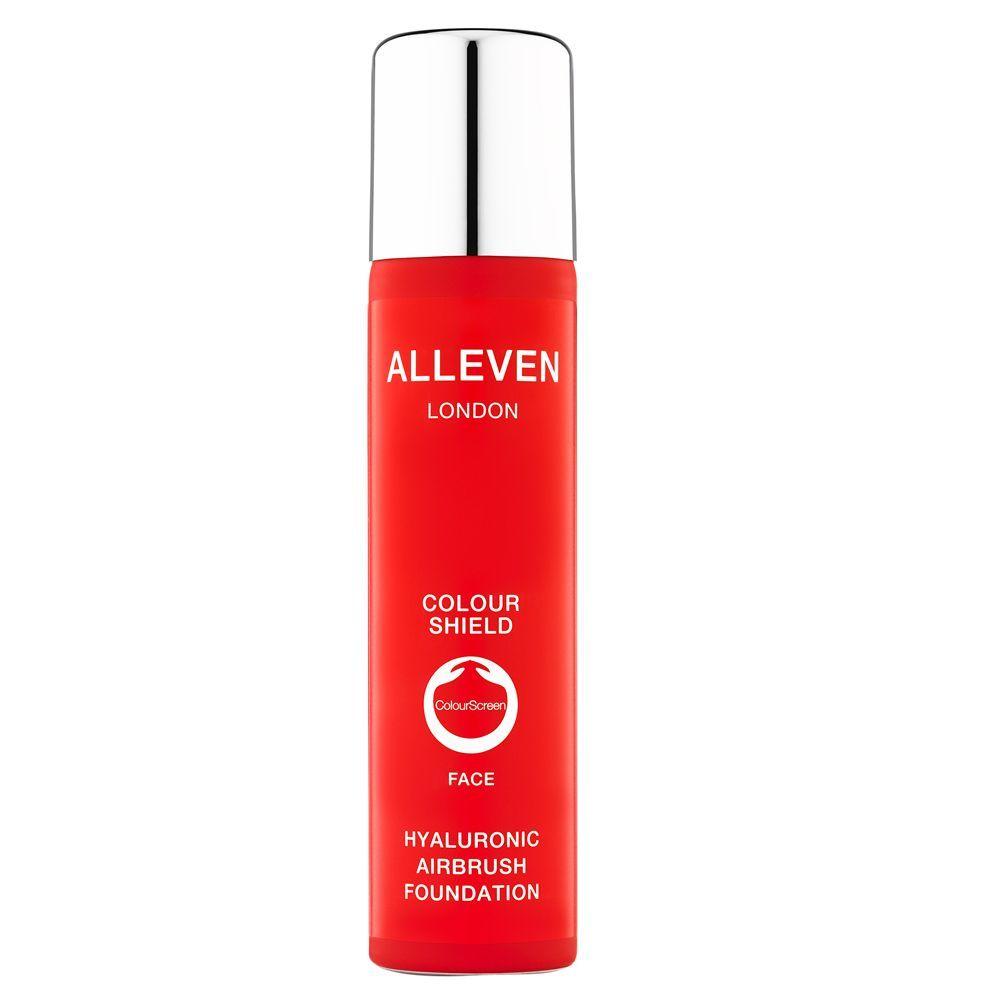 Hyaluronic Airbrush Foundation Colour Shield Face de Alleven.