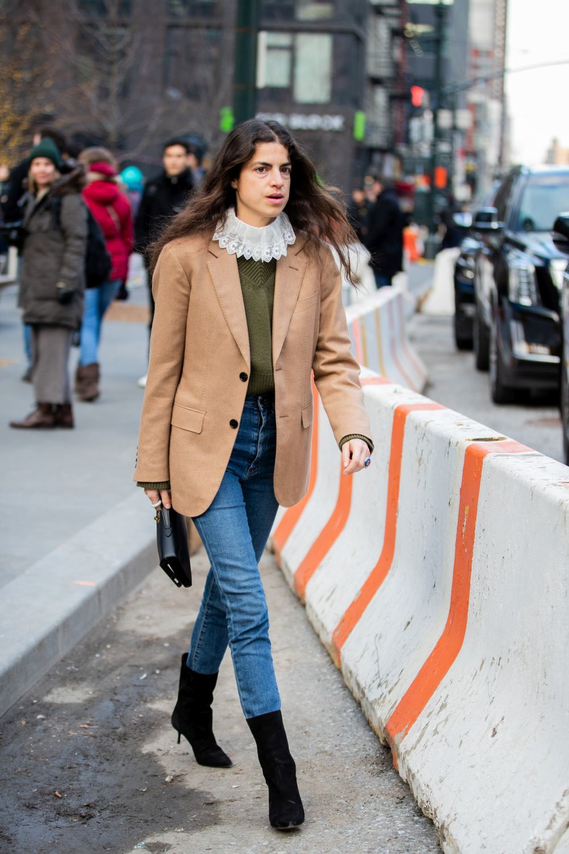 Leandra Medine con blazer