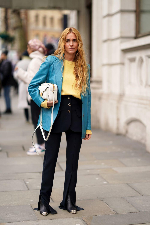 Blanca Miró con blazer.