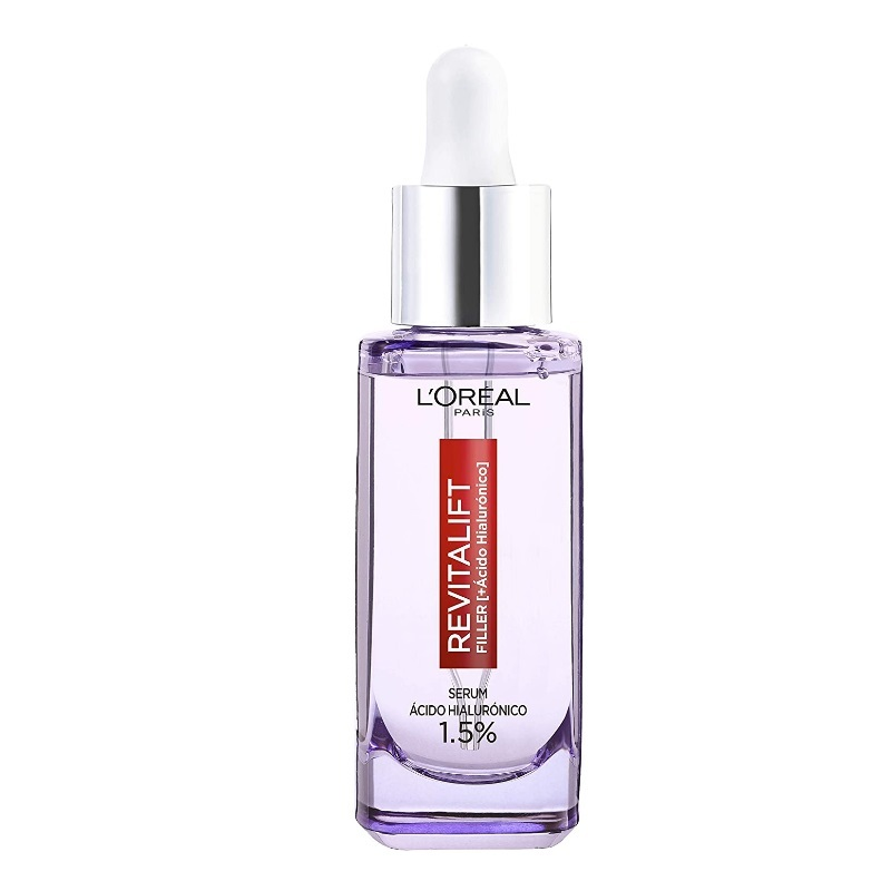 Serum antiarrugas con ácido hialurónico puro Dermo Expertise Revitalift Filler de  LOreal Paris.