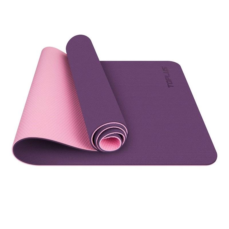 Esterilla antideslizante para yoga y pilates.