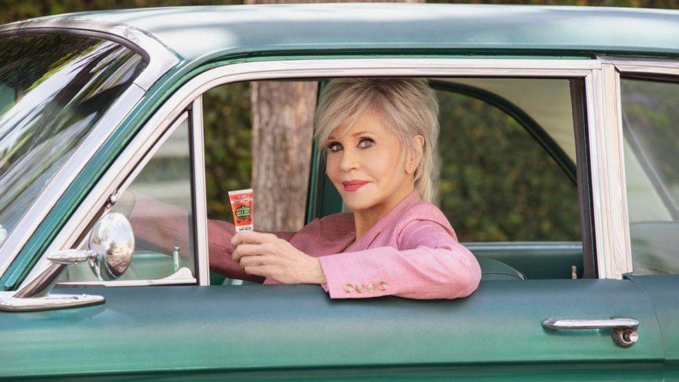 Jane Fonda y la crema de cáñamo que utiliza para los dolores...